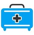 Medical Baggage Icon vector image vector image