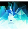 polygonal design Abstract geometrical background vector image vector image