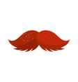 cinco de mayo mustache fashion vector image