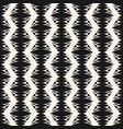 elegant monochrome geometric seamless pattern vector image vector image