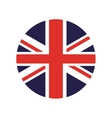 england flag isolated icon vector image vector image