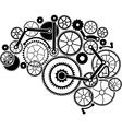 gear brain vector image vector image