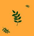 green tropical leaf for decoration designconcept vector image vector image