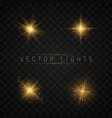 light effect set vector image