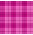 pink tartan seamless pattern vector image