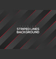 premium abstract red striped lines vector image