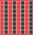 seamless tartan pattern red and grey kilt fabric vector image vector image