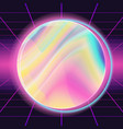80s background for trendy modern design vector image