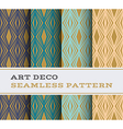 Art Deco seamless pattern 16 vector image vector image