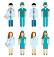 Doctors And Surgeons vector image