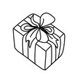 gift for a holiday celebrationchristmasnew year vector image vector image