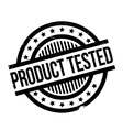 Product Tested rubber stamp vector image vector image