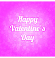 Spot of many hearts Valentines day background vector image