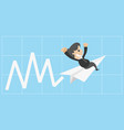 successful entrepreneurs quickly background vector image