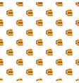 wood mug of beer pattern seamless vector image vector image