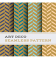 Art Deco seamless pattern 18 vector image vector image