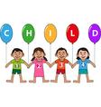 Childhood icon or logo vector image