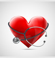 icon healthcare vector image
