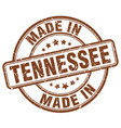 made in tennessee vector image vector image