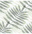 modern seamless texture with palm leaves stylish vector image