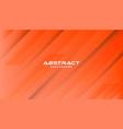 orange abstract geometric background modern shape vector image vector image