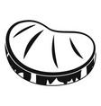 steak icon simple style vector image vector image