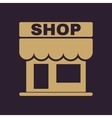 The shop icon Store symbol Flat