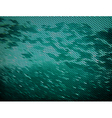 underwater mosaic background vector image vector image