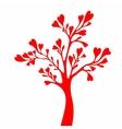 Valentines day tree vector image