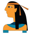 an egyptian or color vector image vector image