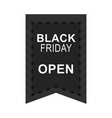black friday sale promotion and advertising icon vector image vector image