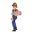 builder bears drawings vector image vector image