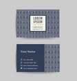 business card art deco design template 07 vector image
