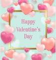 romantic festive background vector image vector image