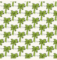 seamless geometric pattern with palms in vector image vector image