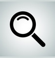 search icon magnifier icon vector image