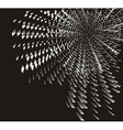 silver particles rotating vector image vector image