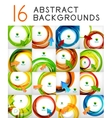 swirl abstract backgrounds vector image vector image
