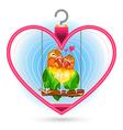 Valentine Love Bird vector image