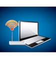 Web Hosting icon Technology design vector image vector image