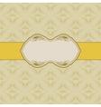 template frame design vector image