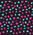bright dark pattern with pink and blue blotches vector image vector image