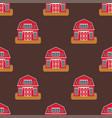 historical city modern world seamless pattern vector image vector image