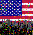People celebrating USA day vector image