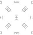 smartphone web surf pattern seamless vector image