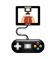 video game vector image vector image