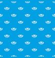 washing cart pattern seamless blue vector image vector image