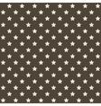 Seamless Stars Pattern in Retro Red