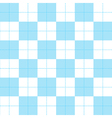 Blue White Chess Board Background vector image vector image