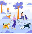 character people cares vector image